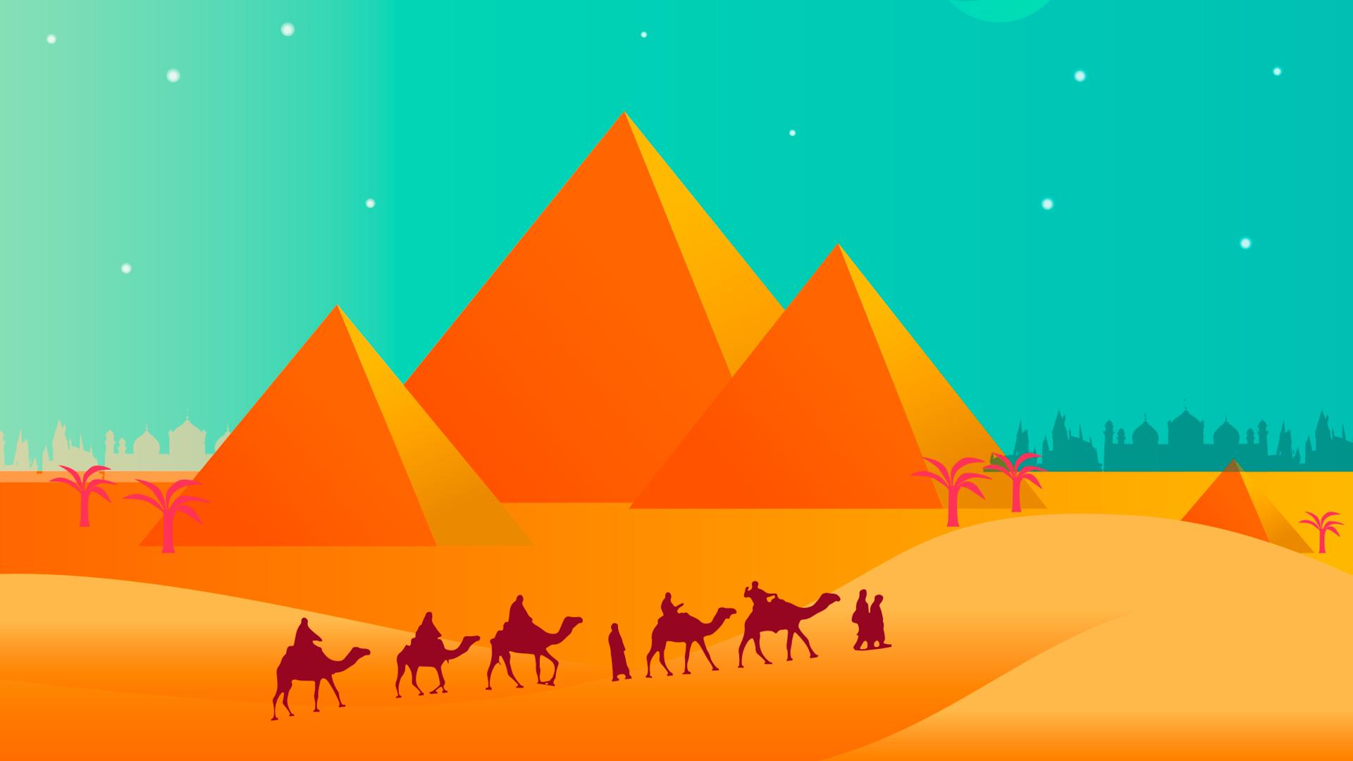 Обои гробница, иероглифы, Пирамиды, пустыня, египет. Разное foto 2