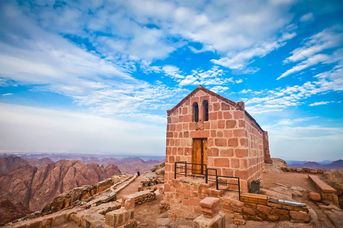 مصلى على جبل موسى